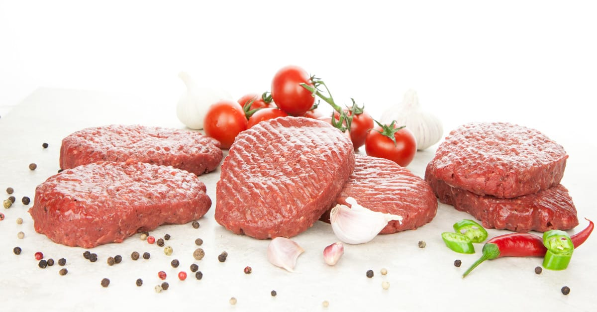 lean raw meat