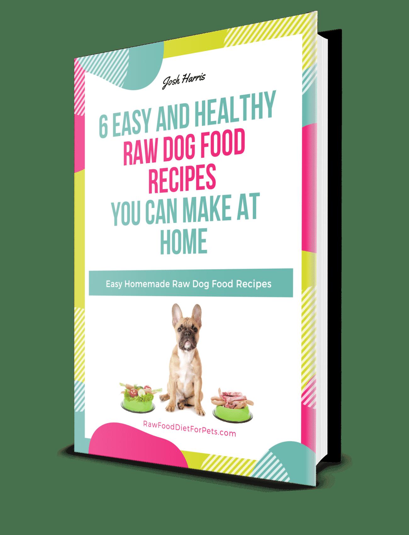 raw food dog recipies book